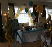 At Hollins Hall Wedding Fayre March 2009